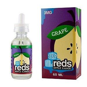 LÍQUIDO GRAPE ICED REDS APPLE E-JUICE - 7 DAZE