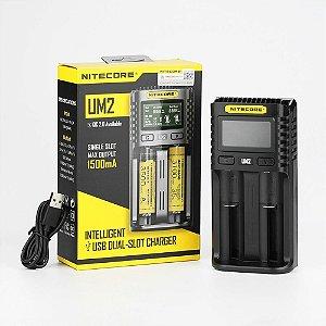 CARREGADOR UM2 LCD USB - NITECORE