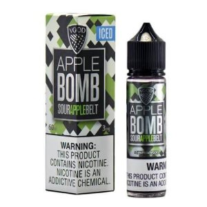 LÍQUIDO APPLE BOMB BELT ICED PREMIUM AMERICAN - VGOD