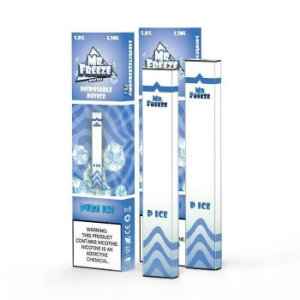 POD BLUE RASPBERRY FROST ( DESCARTÁVEL ) 300 PUFFS  - MR. FREEZE