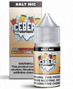 LÍQUIDO SALT ICE STRAWBERRY MANGO LOW MINT - ICEBERG VAPORS