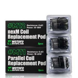 POD M11 PARALLEL COIL / M12 NEXM COIL - WOTOFO