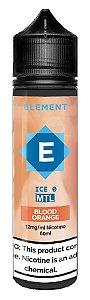 LÍQUIDO ELEMENT ICE MTL BLOOD ORANGE - ELEMENT