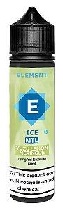 LÍQUIDO ELEMENT ICE MTL YUZU LEMON MERINGUE - ELEMENT