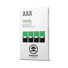POD ( CARTUCHO ) C/ LÍQUIDO CUCUMBER - JUUL