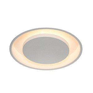 Luminária Embutir Eclipse Redonda Alumínio Ø43cm 3xE27 LED Bulbo A60 Bivolt Itamonte Nac 2042/40E27
