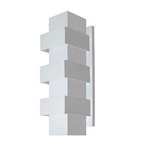 Arandela Efeitos Alumínio 11,5x35x11,5cm 3xG9 LED Cápsula Bivolt Itamonte Nac 254/3