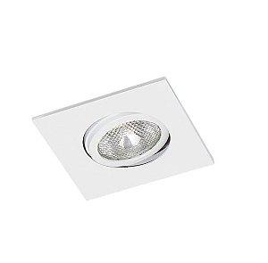 Spot Embutir Quadrado Alumínio 12x12x11,1cm 1xE27 LED Par20 Bivolt Itamonte Nac 11008