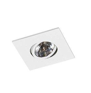 Spot Embutir Quadrado Alumínio 12x12x08cm 1xGU10 LED AR70 Bivolt Itamonte Nac 11010
