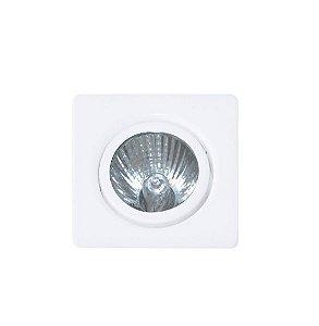 Spot Standard Quadrado Orientável Alumínio 08x05x04cm 1xGU10 LED Dicróica MR16 Bivolt Itamonte Nac 1017