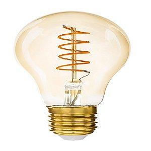 Lâmpada Bulbo Filamento Loop E27 4W | 25W 2200K 360° Bivolt 280LM Saveenergy SE-345.1561