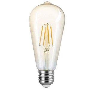 Lâmpada ST64 Filamento Vintage E27 4W | 40W 22000K 360º Bivolt 300LM Saveenergy SE-345.1391