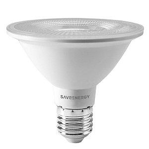 Lâmpada PAR30 Clear E27 10W | 75W 6500K 38º Bivolt 860LM | 1345CD Saveenergy SE-115.1463