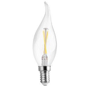 Lâmpada Vela Filamento Chama  E14 2W | 25W 2400K 360° 127V 200LM Saveenergy SE-210.1026