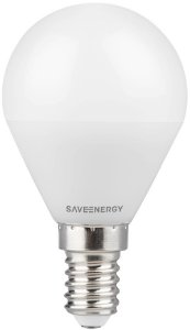 Lâmpada Bulbo E27 3W | 25W 2400K 200º Bivolt 240LM Saveenergy SE-225.1150