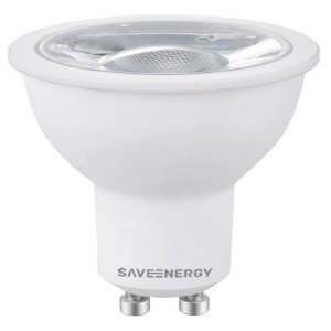 Lâmpada MR16 GU10 7W 50W 2700K 24º Bivolt 470LM 1755CD Saveenergy SE-130.562