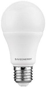 Lâmpada Bulbo A60 9W 810LM 6500K E27 85-240V Click Saveenergy SE-215.1455