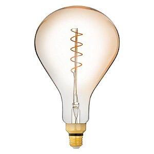 Lâmpada PS165 Filamento Loop E27 4W | 25W 2200K 360º Bivolt 300LM Saveenergy SE-345.1566