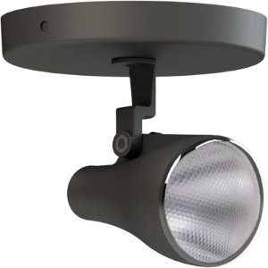 Spot Preto Canopla Led IP65 7W | 50W 2700K 24º Bivolt 470LM | 1830CD Saveenergy SE-340.1077