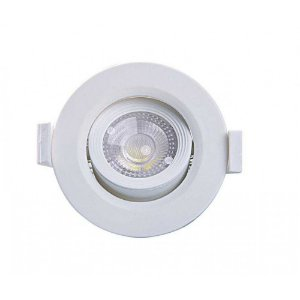 Spot Embutir Redondo Alltop LED MR11 3W 3000K 75x75x45mm Taschibra 7897079083620