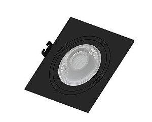 Embutido MR16 Quadrado Face Plana Branco Sistema Click Saveenergy SE-330.1035