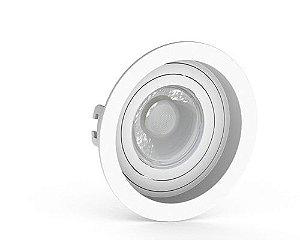 Embutido MR16 Redondo Recuado Branco Sistema Click Saveenergy SE-330.1034