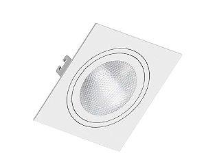 Embutido PAR30 Quadrado Face Plana Branco Saveenergy SE-330.1055