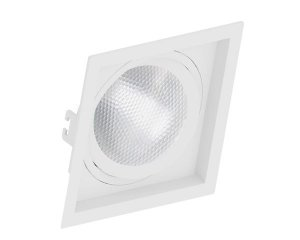 Embutido PAR30 Quadrado Recuado Branco Saveenergy SE-330.1056