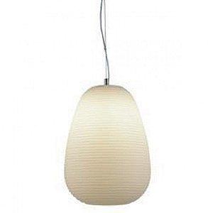 Pendente Cotton  24,5cm X 36,5cm 1XE27 Cor Branco Bella Iluminação AC002