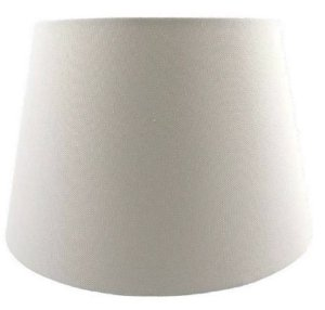 Cúpula de Abajur Linen Tecido 60cm Off White Bella AL003W