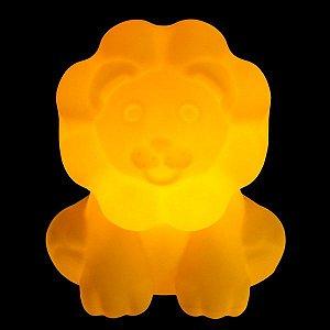 Luminária de Mesa Leãozinho Amarelo Usare LEAOZINHO