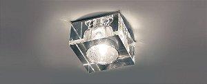 Semiembutido Quadrado Cristal Transparente Stella SD4010
