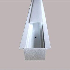 Perfil Embutir Linear Linha Garbo 23x500x17mm Usina 30030/50