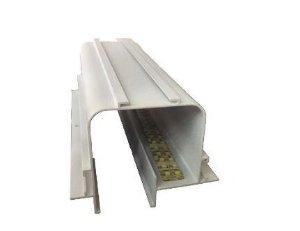 Perfil Embutir Linear Linha No Frame Tecno 93x1000x70mm Usina 30000/100