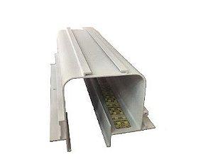 Perfil Embutir Linear Linha No Frame Tecno 93x2000x70mm Usina 30000/200