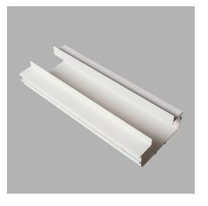 Perfil Embutir Linear Duplo Linha Infinity 23x1500x55mm Usina 30010/150