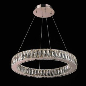 Lustre LED Aura Vidro 32W 3000K Quente 160xØ60 Bella WE001B