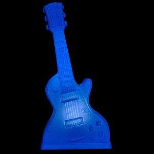 Luminária de Mesa Guitarra Cor Azul Usare 1664