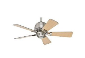 Ventilador de Teto Hunter Fan Orbit Níquel 5 pás sem luminária 110V Hunter Fan 50024