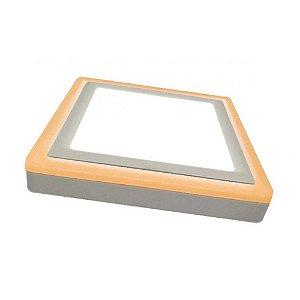 Painel Sobrepor Quadrado 24,5x24,5cm 18W + 6W Dual Color Taschibra 15070110