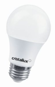 Lâmpada  Bulbo Bivolt 4,7W 6500K  490LM Cristallux 200136
