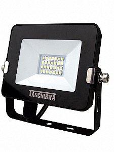 Refletor Led RGB Bivolt 10W 145x122x25mm Cor Preto Taschibra 7897079057188