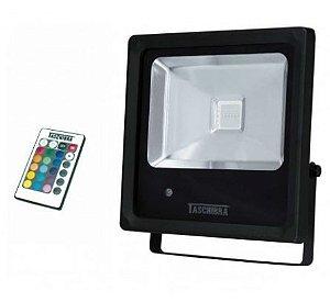 Refletor LED RGB Bivolt 20W Taschibra 15030035