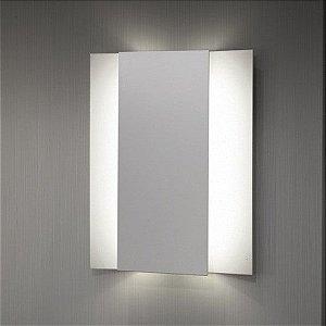 Arandela Linha Palazzo Lenova 4,4W 420Lm 250mmx215mmx30mm Branco Misterled SLED6028