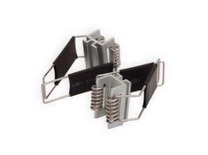 Presilha Metálica com Mola para Perfil Alumínio de Embutir Revoled AX0602