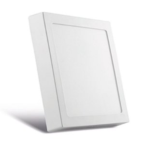 Luminária de Sobrepor Quadrada Branca 40x40cm  Bivolt  3000K  36W  2300LM 120º  Saveenergy SE-240.934