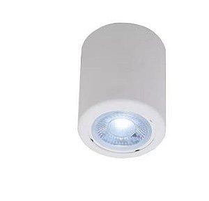 Plafon Branco Bolt Sobrepor Cone GU10 Ideal 641IDEALBR