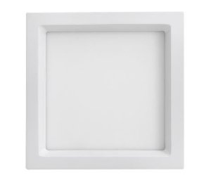 Luminária de Embutir Quadrada Branca 30x30cm Bivolt 25W 3000K 1760LM 120º  Saveenergy SE-240.1654