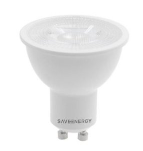 Lâmpada MR16 GU10 4.8W | 35W 4000K 24º Bivolt 380LM | 375CD  Saveenergy SE-130.1641