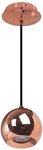 Pendente Pin Metal 131,5xØ12,5 Cor Cobre Bella Iluminação FH015A
